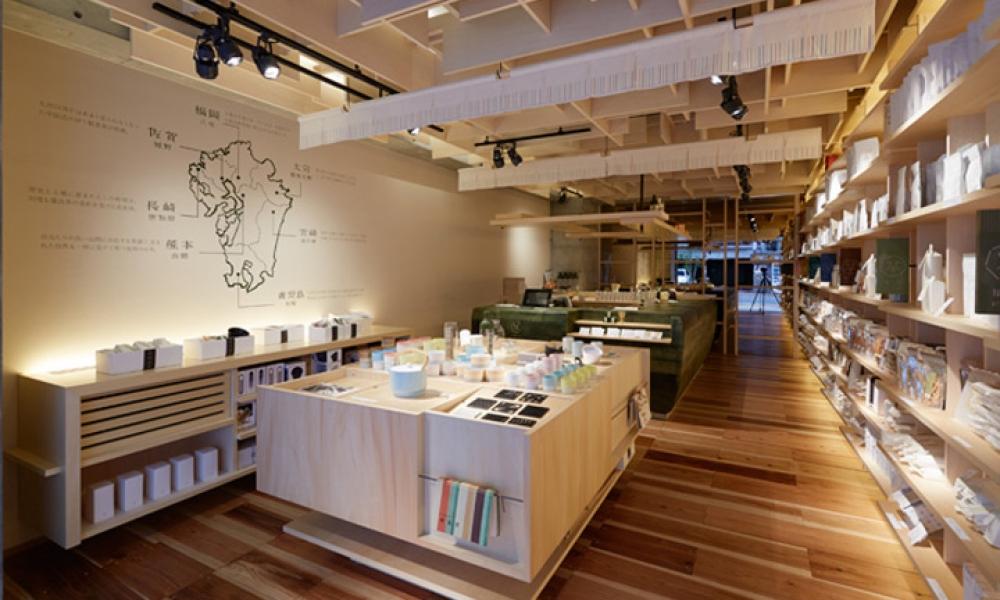 151E tea retail shop design, Japan