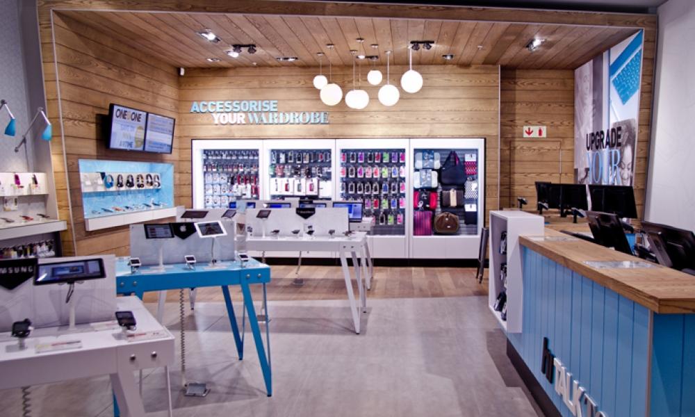 Hi Store Phone Accessories & Repair Service Shop Design to South Africa