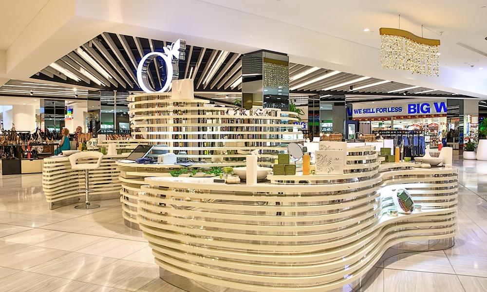 Origani Skincare Mall Kiosk Design