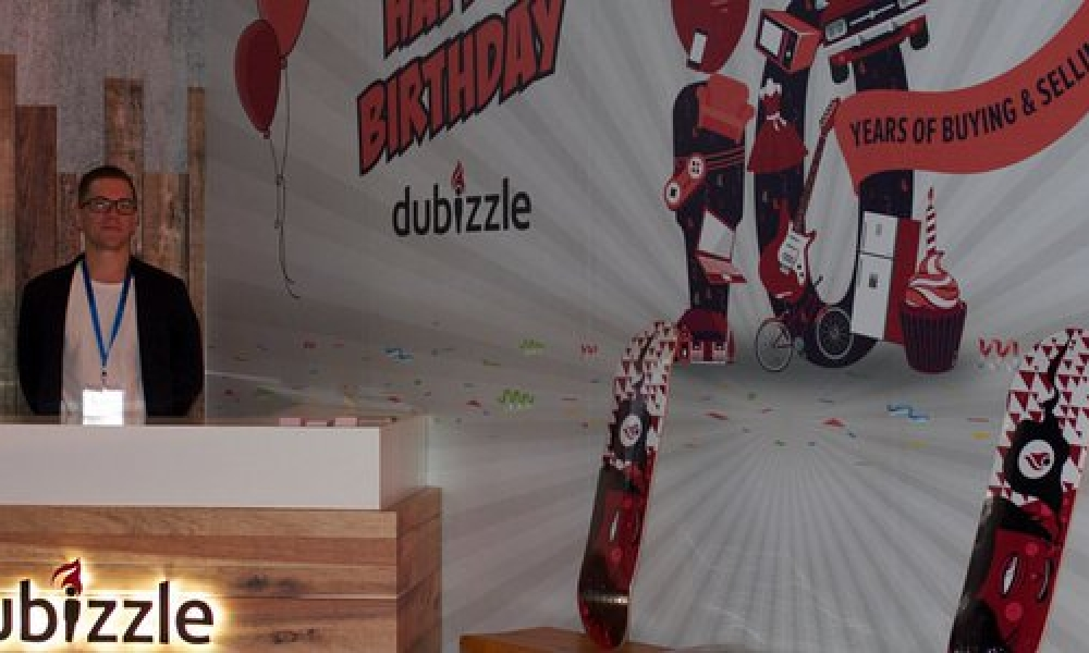 Dubizzle Display Stand Design at DubaiLynx