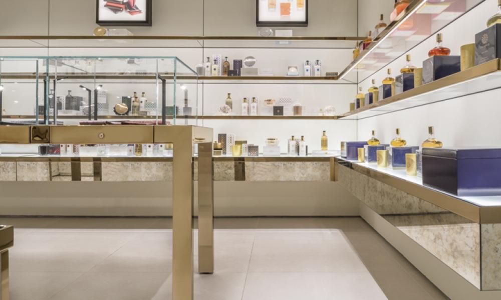 Amouage Perfume store Design, Milan Italy