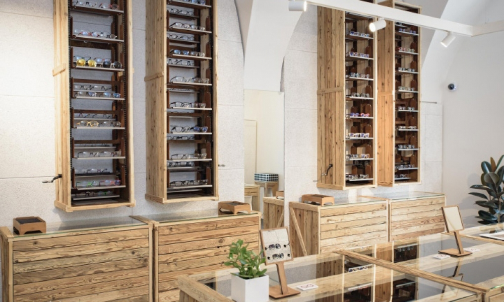 Andy Wolf Eyewear store concept
