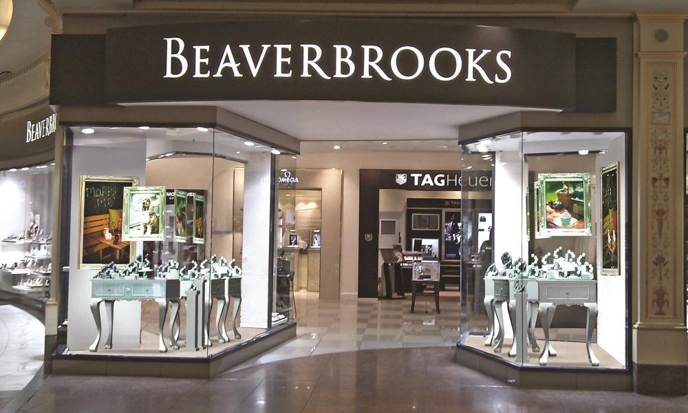 Beaver Brooks Jewellery & Watch Retail Store Design, UK