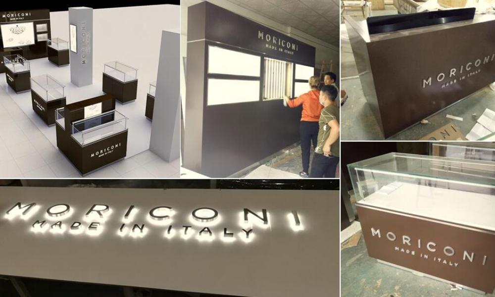 Latest Retail Shop Work - M2 Display