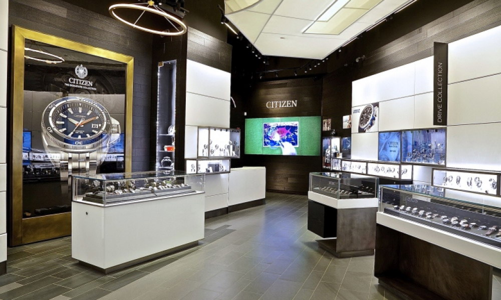 Citizen Watch Flagship Store Design, New York City