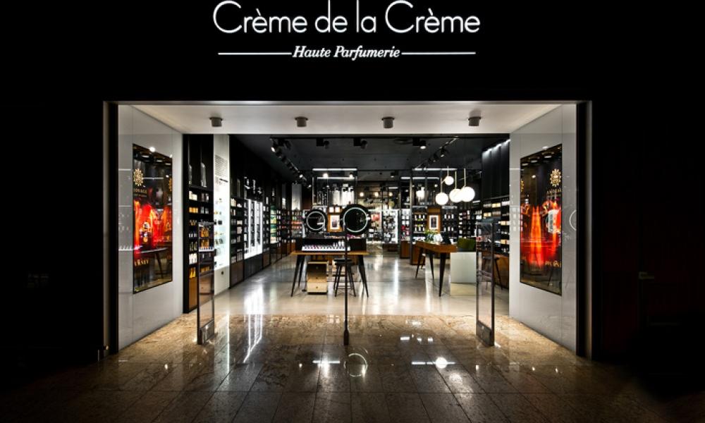 Crème de la crème haute parfumerie retail shop design