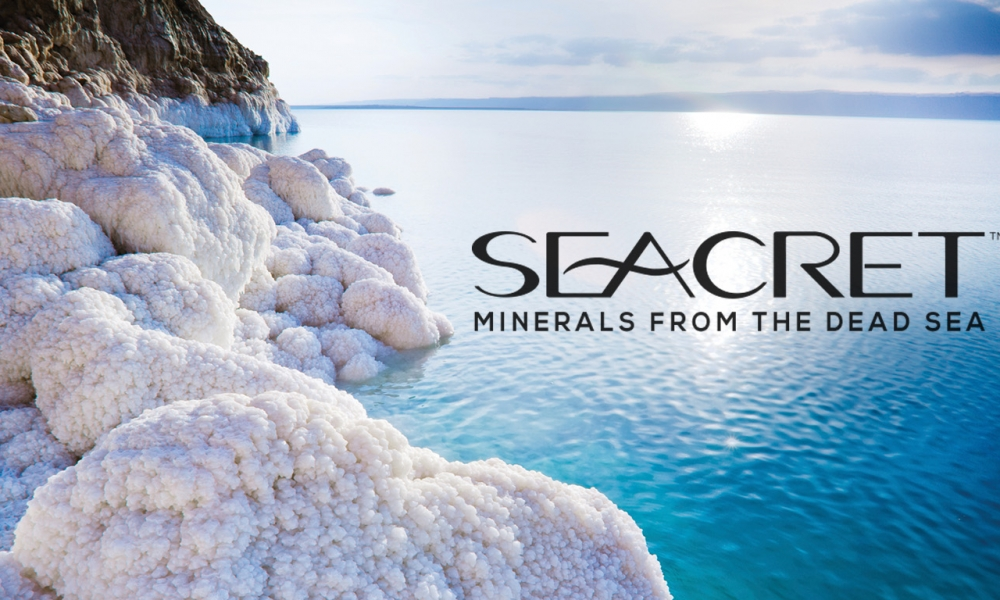 Dead Sea Salt Products Sold Mall Kiosks