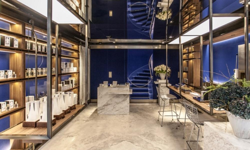 Ex Nihilo perfume retail shop design
