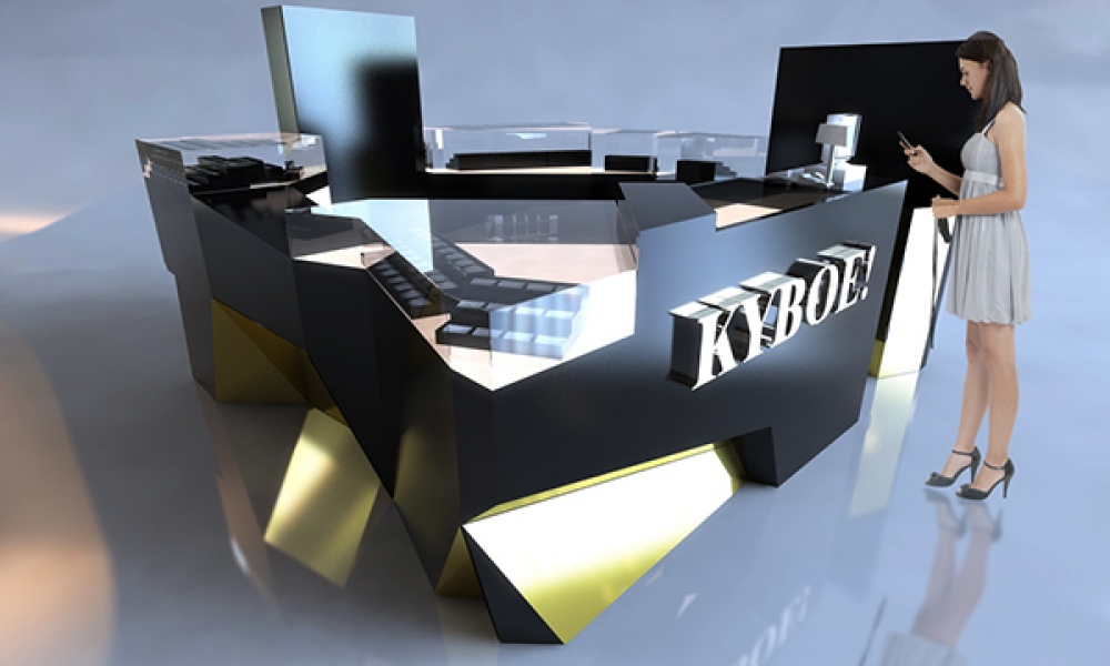 KYBOE Watch Mall Kiosk Design