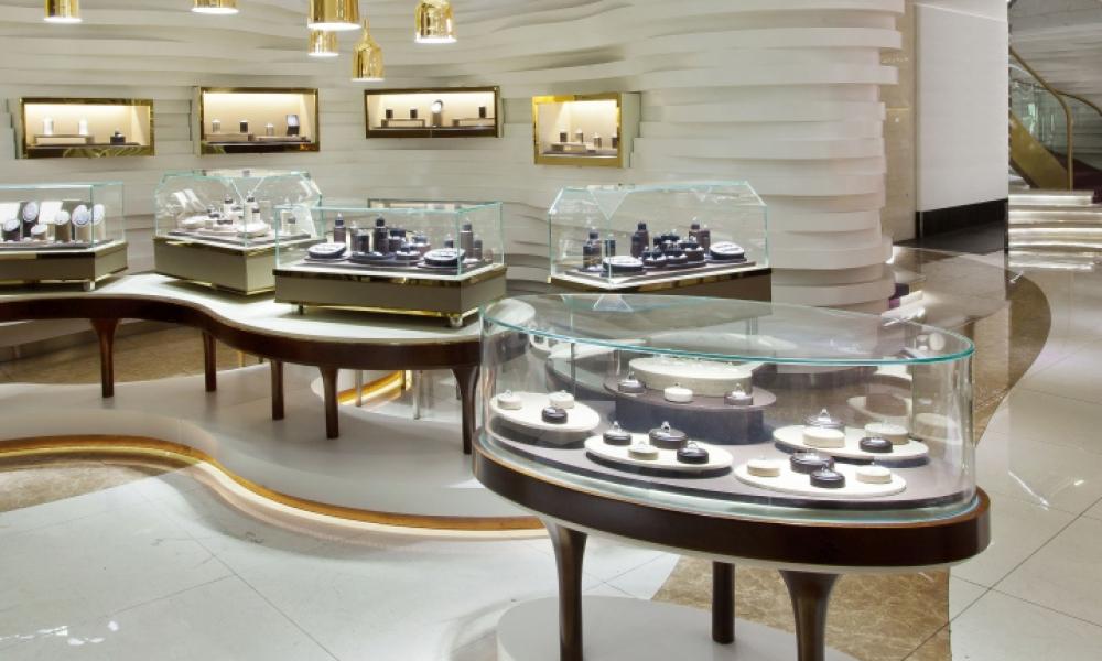Gemania Jewellery Store Layout Interior Design