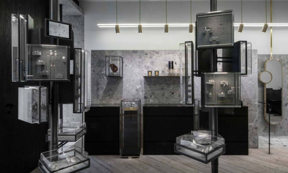 Ileana Makri Jewellery Store Design