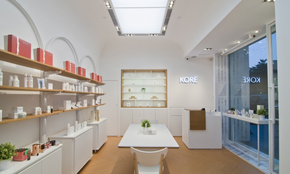 Kore Beauty Store Design, Guangzhou China
