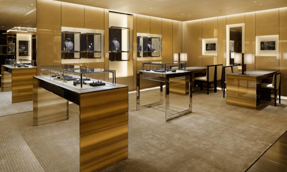 Louis Vuitton Fine Watch & Jewelry Shop Design