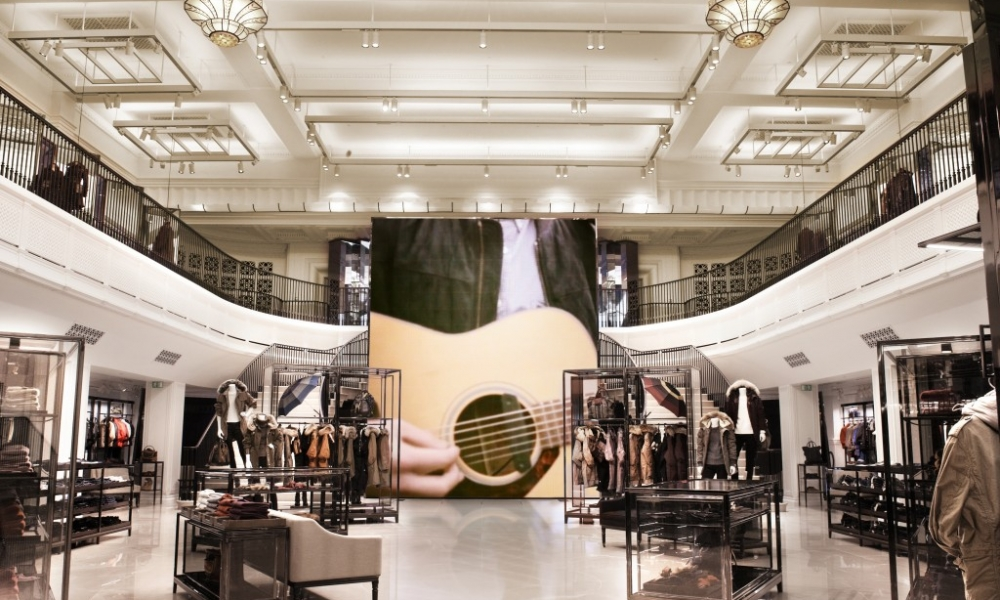 Leading Luxury Brands Merging Digital And Physical Spheres Through Innovative Retail Store Designs