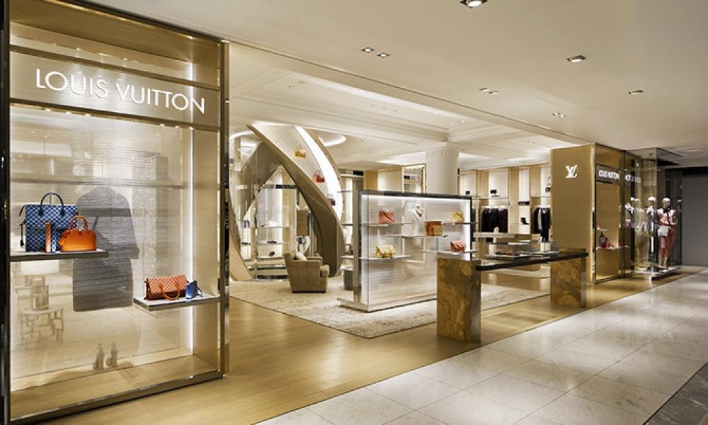 Louis Vuitton Townhouse second floor design