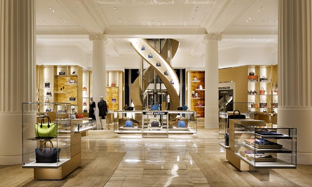 Louis Vuitton Townhouse Ground Floor Design