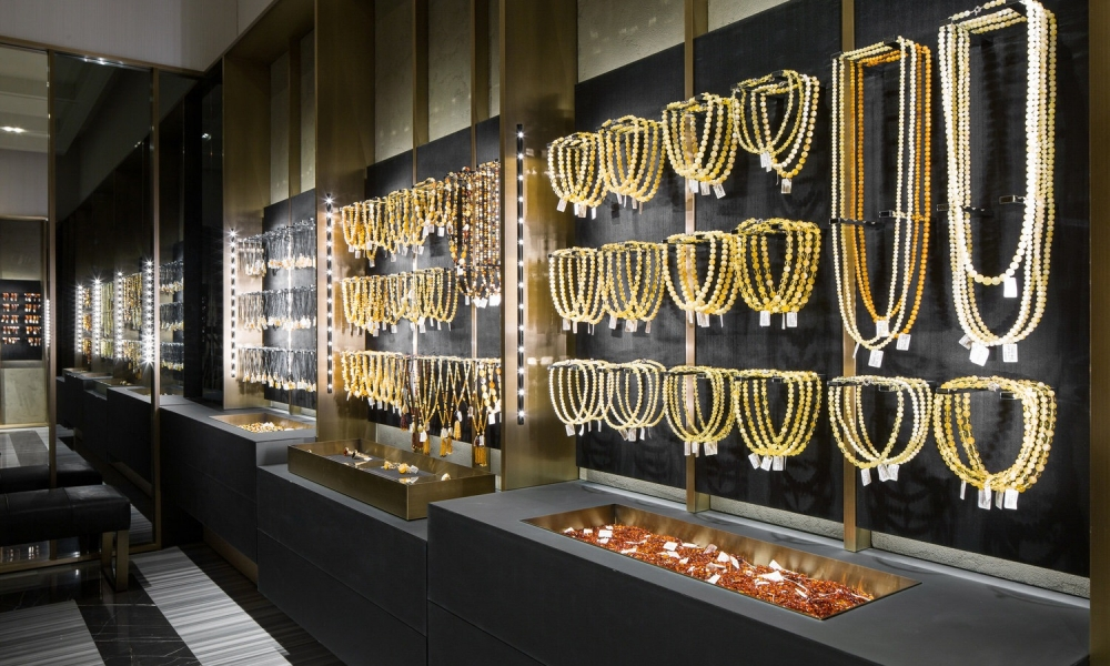 Luxury Jewellery Retail Display Units Manufacture