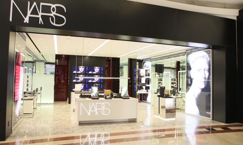 NARS Cosmetics Flagship Boutique Store Design, KLCC-Singapore