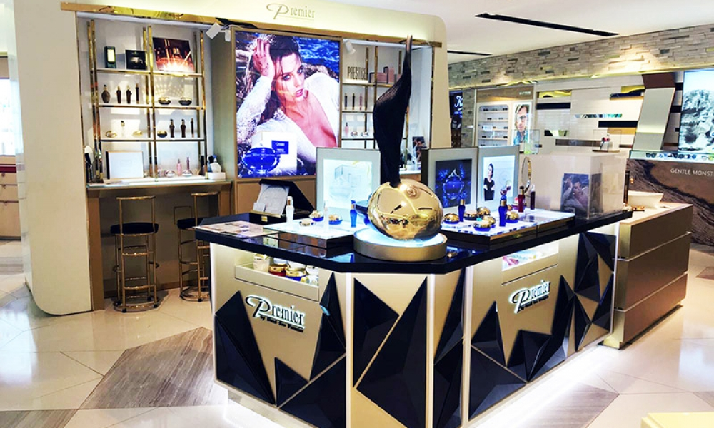 Premier Dead Sea Products Store Design, Hongkong, China