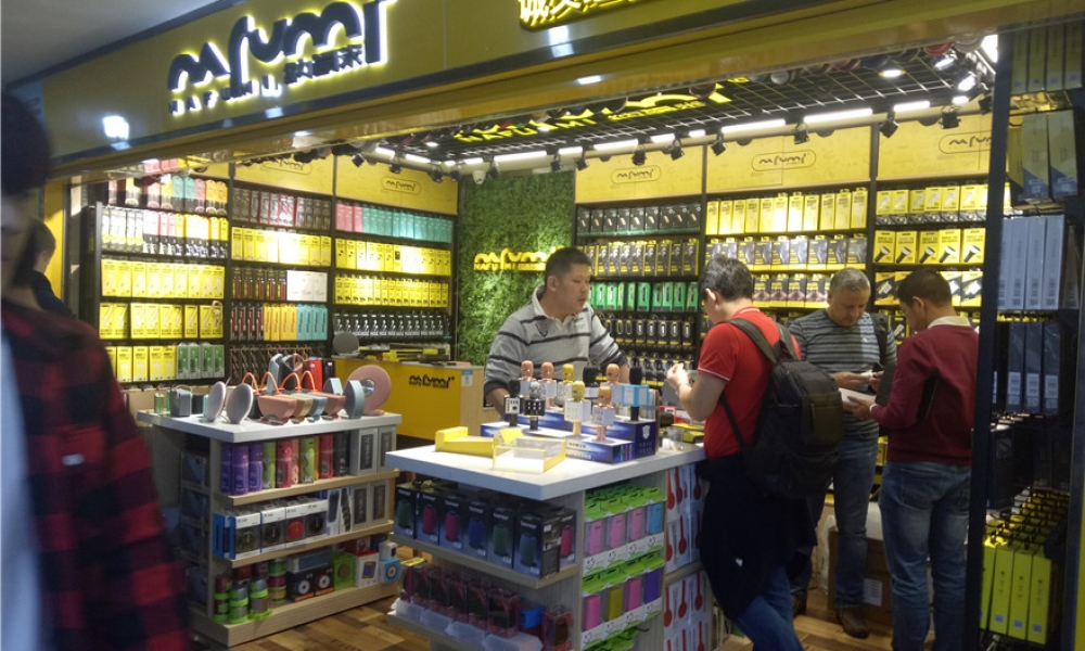 Shenzhen Huaqiang North Phone Accessories Market Shops New Age
