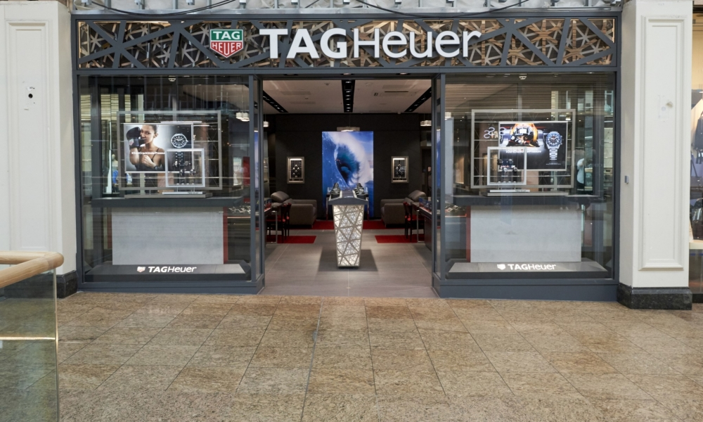 TAG Heuer Watch Flagship Store Design, Meadowhall UK