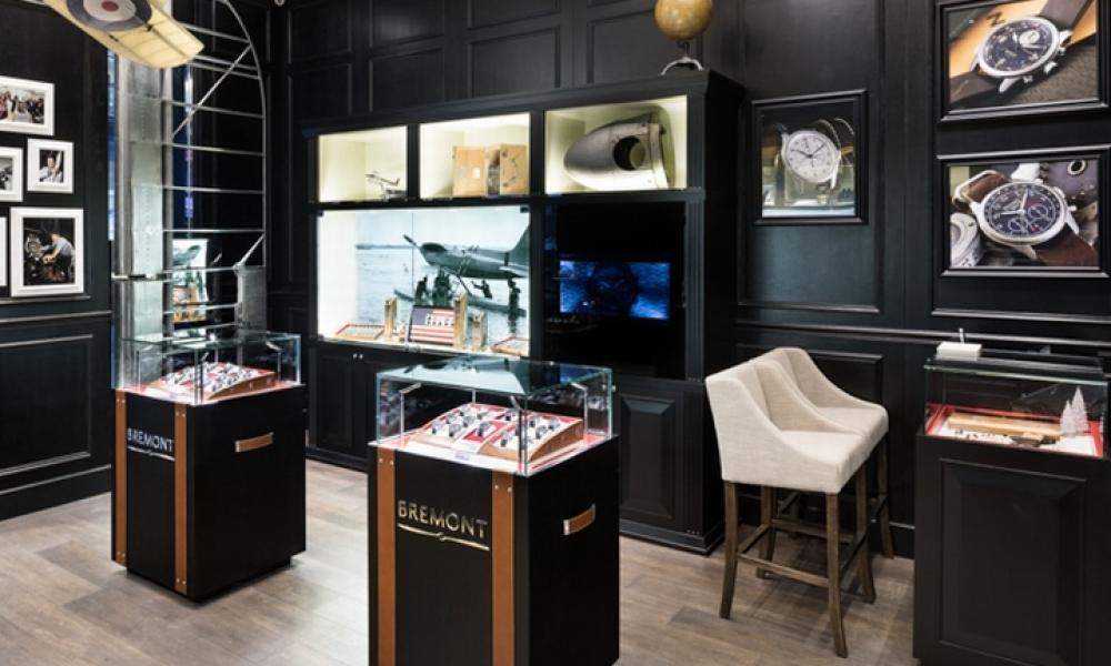 Bremont Watches Boutique Shop Design, HONG KONG